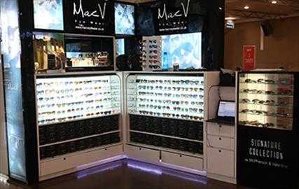 MacV eyewear franchise