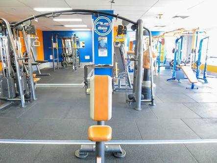 Plus fitness interior