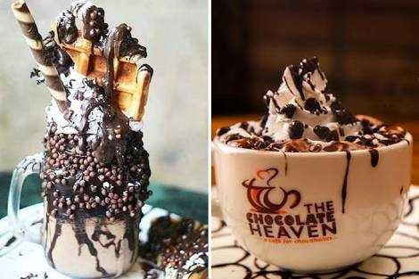 The Chocolate heaven franchise products